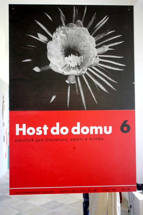 Výstava o časopisu Host do domu.