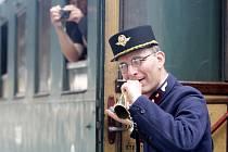 Dopravní nostalgie. Cestující se mohli svézt parním vlakem na nádraží Kuřim, libovolně cestovat historickým trolejbusem, autobusem nebo i tramvají až na Náměstí svobody v Brně.