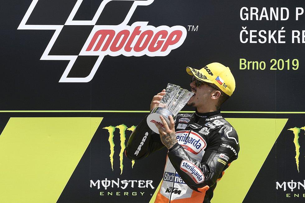 Brno 04.08.2019 - Moto GP 2019 - závod Moto 3 - Aron Canet