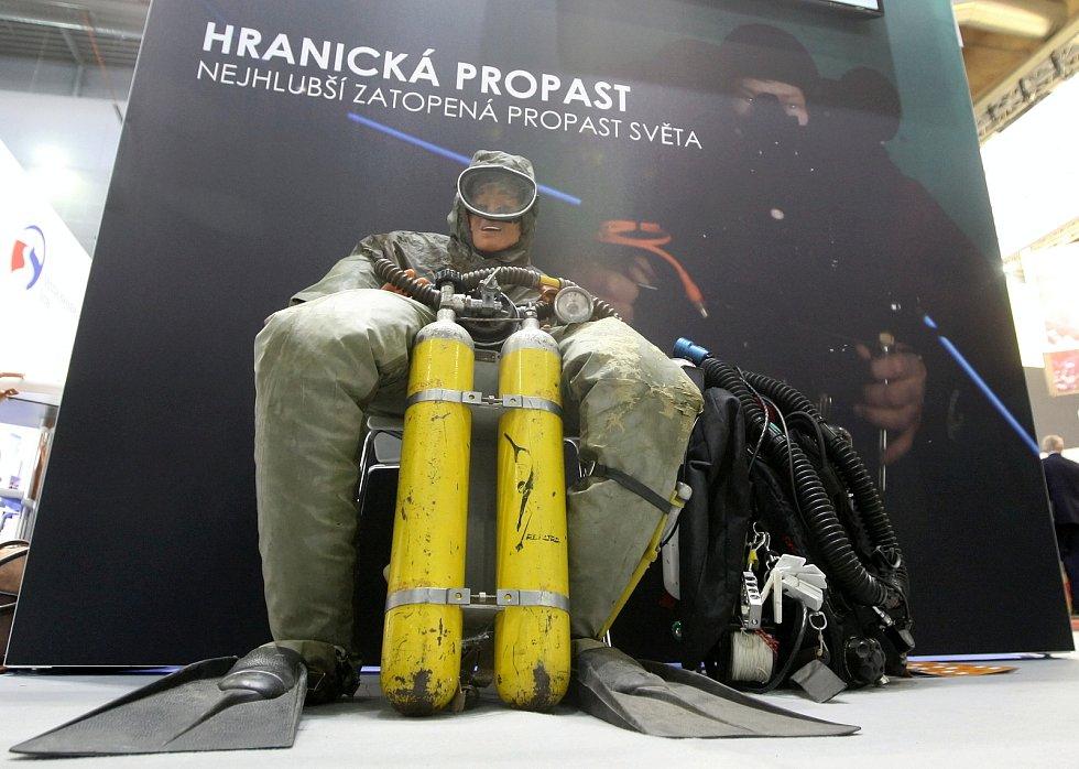 Veletrhy cestovního ruchu Go a Regiontour na brněnském výstavišti.
