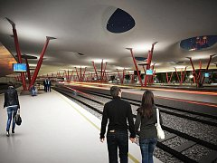 Tak může podle návrhu aktivistů vypadat hlavní nádraží v centru Brna.