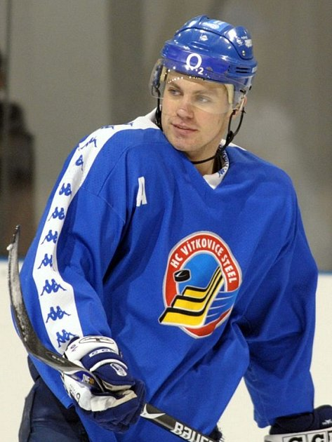 Hokejový reprezentant Petr Hubáček.