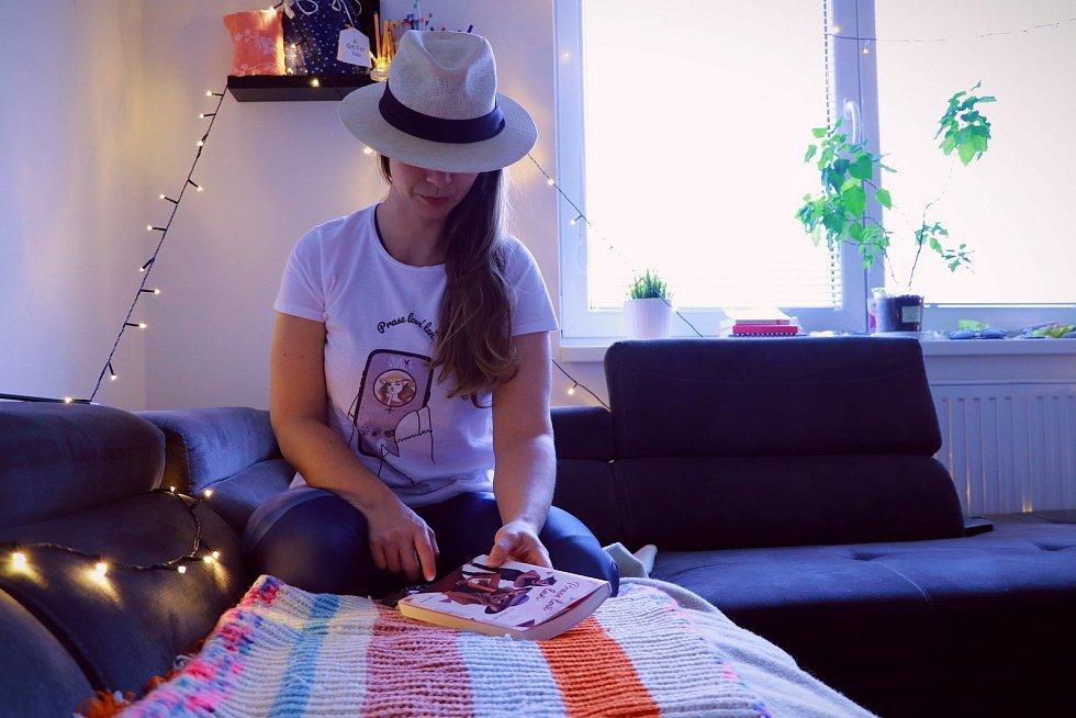 Veronika Procházková nyní pracuje na vydání knihy pomocí startovače.