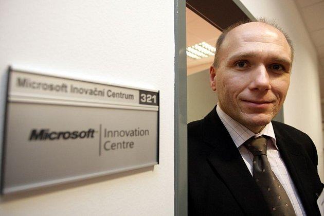 Manažer Microsoft Dalibor Kačmář.