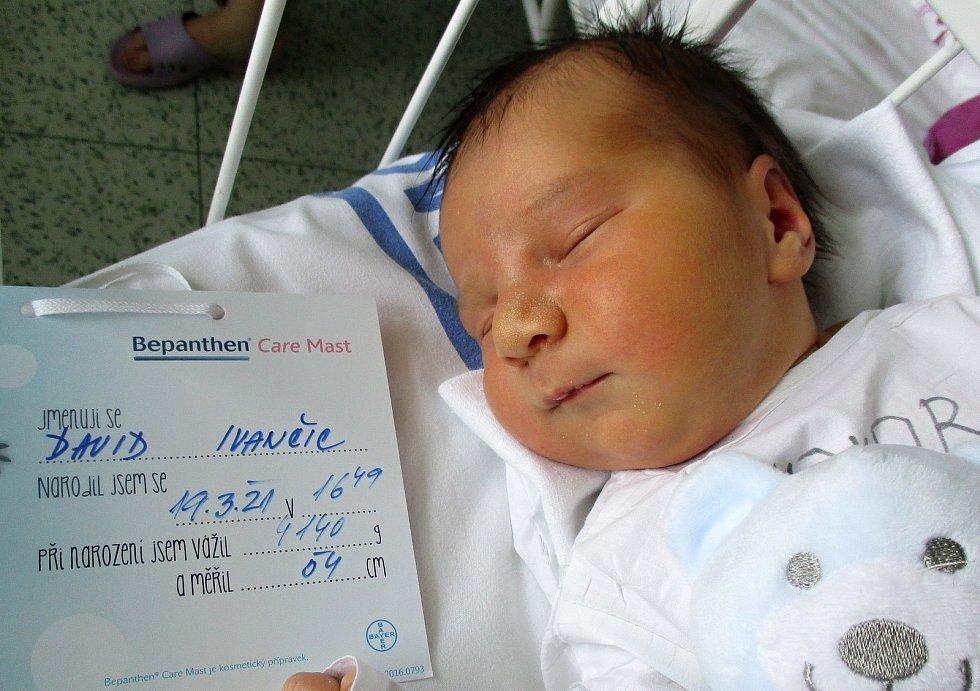 David Ivančic, 19. 3. 2021, Nemocnice Břeclav, 4140 g, 54 cm