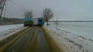 První letošní sněžení v Brně a na jihu Moravy