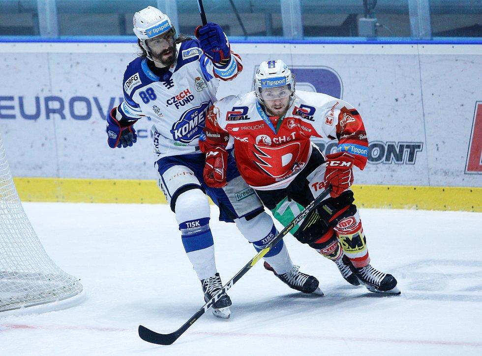 Další klenot brněnské ofenzivy Peter Mueller zatím v této sezoně odehrál za Kometu jen dva zápasy, teď už by absentovat neměl.