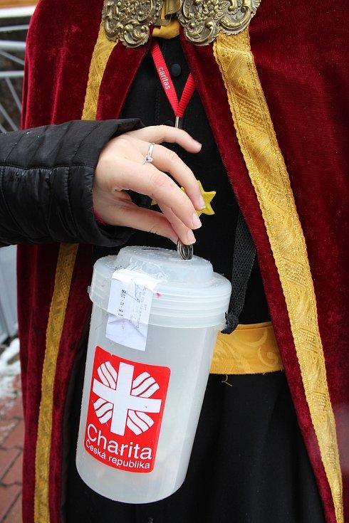 I letos mohli lidé na jižní Moravě přispívat ve Tříkrálové sbírce Diecézní charity Brno.