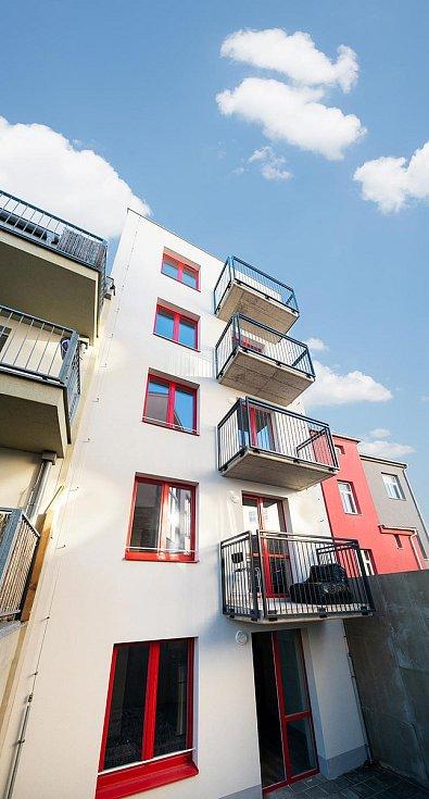 Bytový dům ve Valchařské ulici v Brně, 3. místo v kategorii Bytové stavby.