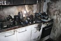 Dva mladí lidé skončili v nemocnici po výbuchu na brněnském sídlišti Vinohrady.