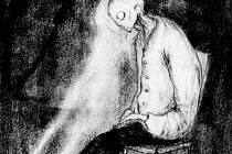 SMUTEK NA PAPÍŘE. Kresba Nikoly Čulíka (technika tužky).