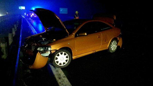 Tragická nehoda na 192. kilometru dálnice D1 u Brna.