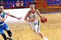 Basketbalistka Klára Křivánková ze Žabin Brno.