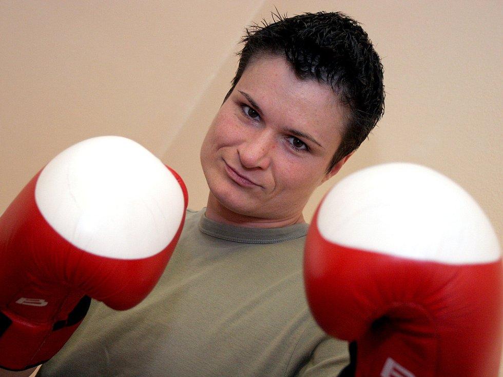 Nejlepší amatérská boxerka v zemi Danuše Dilhofová