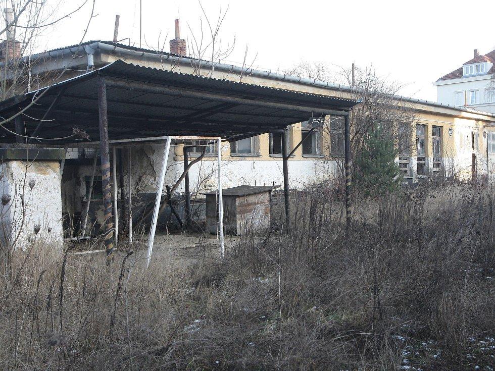 Areál bývalých armádních dílen v brněnské Lerchově ulici. Ilustrační foto.