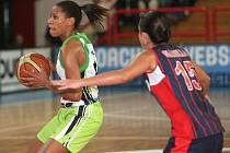 Basketbalistky Frisco Brno se utkaly s italským Tarantem.