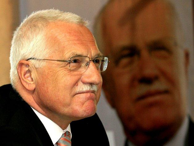 Prezident ČR Václav Klaus