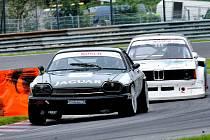 David Bečvář v Jaguaru XJS ovládl závod Histo-Cupu na Salzburgringu.