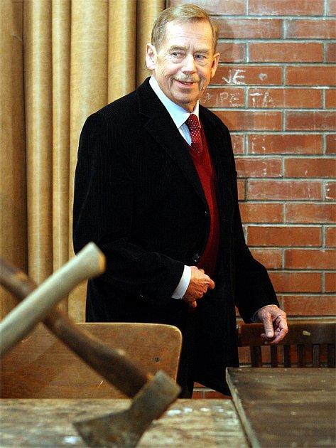 Václav Havel v Brně