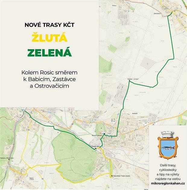 Turisté si na jižní Moravě nově vychutnávají šestnáct kilometrů nových tras.