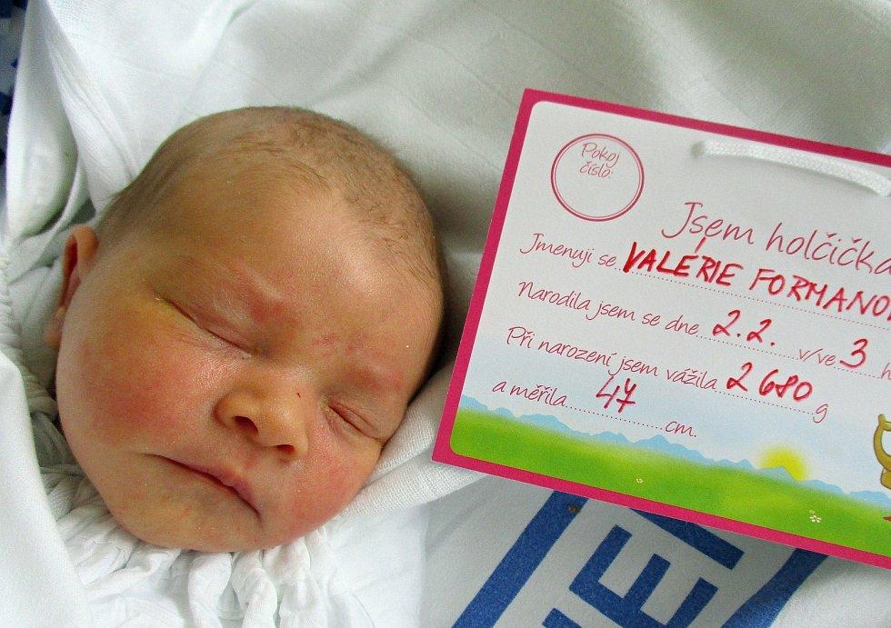 Valérie Formanová, 2. 2. 2021, Lednice, Nemocnice Břeclav, 2680 g, 47 cm