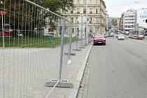 Oprava parku v ulici Koliště - ilustrační foto.