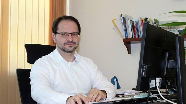 Starosta Pohořelic Miroslav Novák.