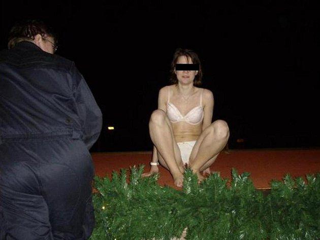 Polonahou ženu zadrželi strážníci brněnské městské policie.