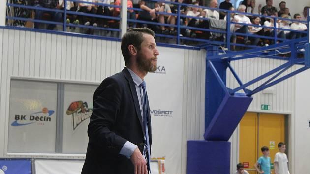 Kouč brněnských basketbalistů Lubomír Růžička.