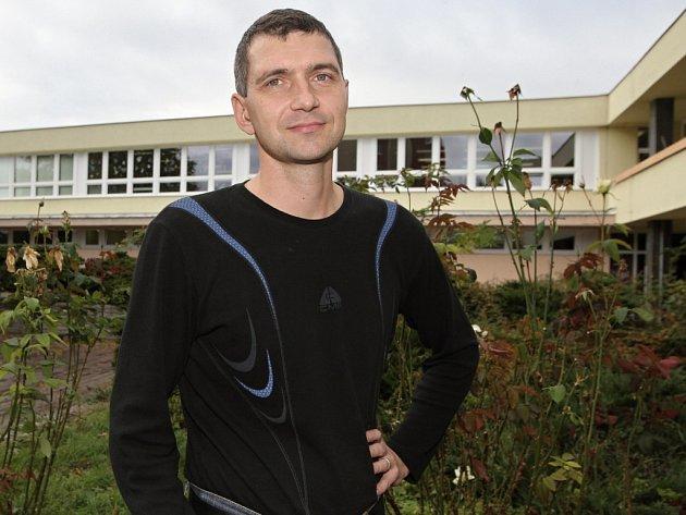 Brněnský plavec Josef Horký.