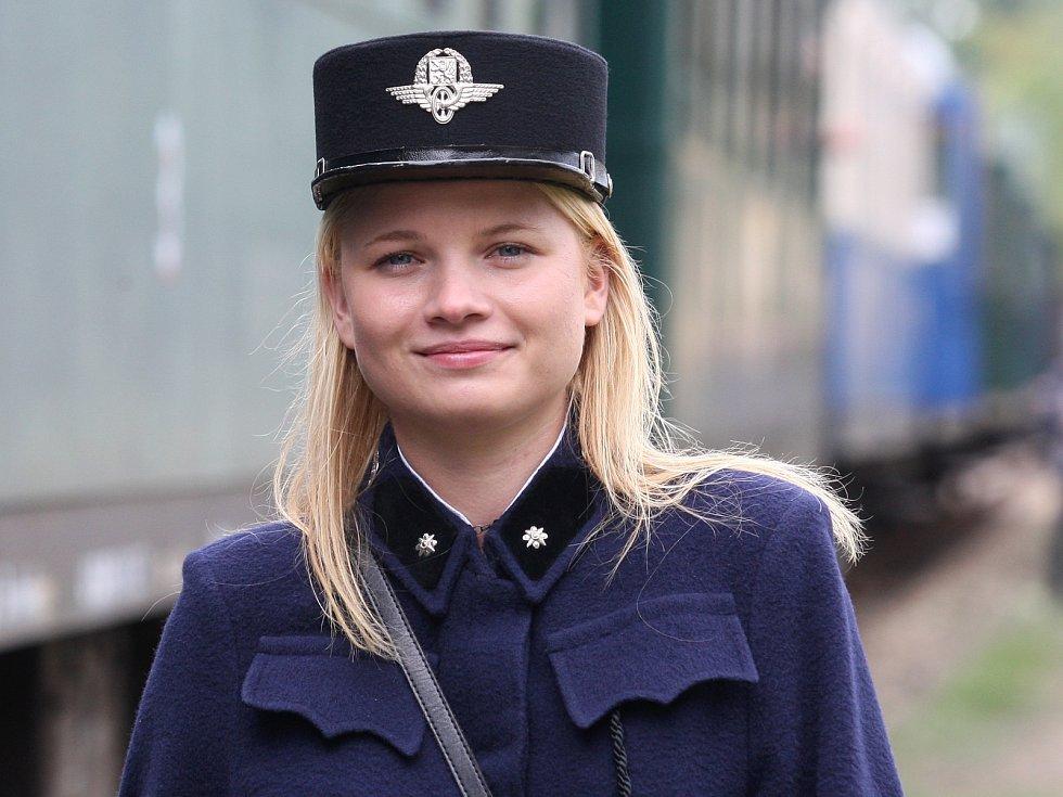 Den železnice České dráhy zorganizovaly v Zastávce.