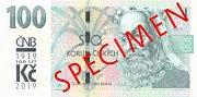 Národní banka vydává také stokoruny se speciálním logem oslavy sto let od měnové odluky.