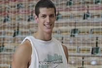 Basketbalista Miloš Drča.