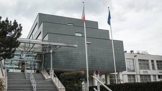 Někdejší sídlo Okresního výboru Komunistické strany, v současnosti sídlo ombudsmanky. Ilustrační foto.