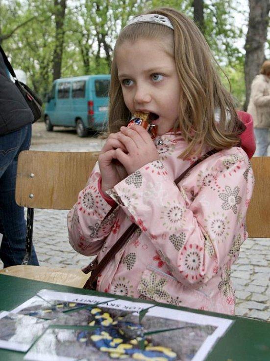 Páteční odpoledne v parku pod brněnským hradem Špilberk patřilo oslavám Dne Země.