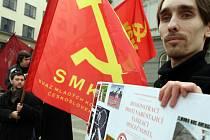 Demonstrace proti neonacismu a rasismu.