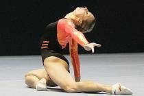 Sportovní gymnastka Jana Komrsková.