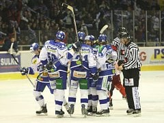 HC Kometa Brno vs. HC Olomouc.