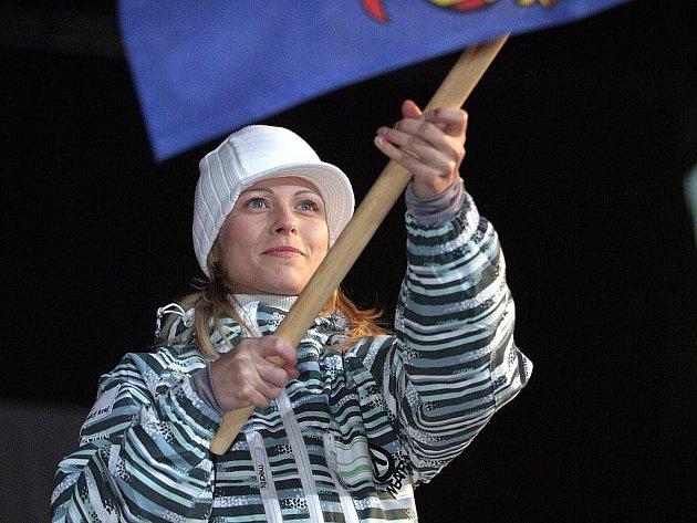 Krasobruslařka Kateřina Beránková.