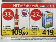 Alkoholické nápoje v nabídce tuzemských maloobchodních řetězců