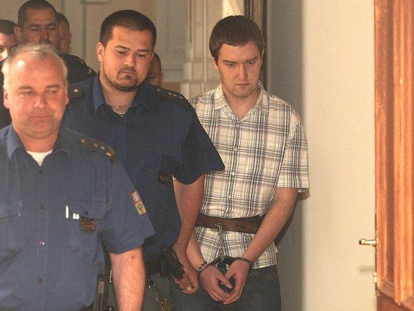Obžalovaný Michal Rudolf (vpravo).