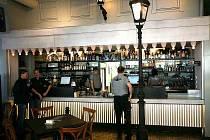 Brněnská restaurace Charlie's Street.