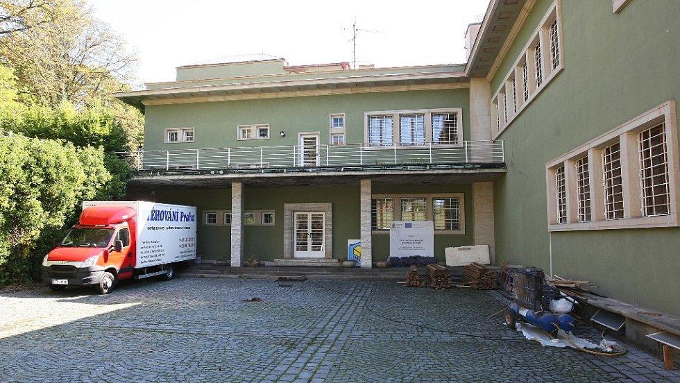 Rekonstrukce vily Stiassni v Brně.