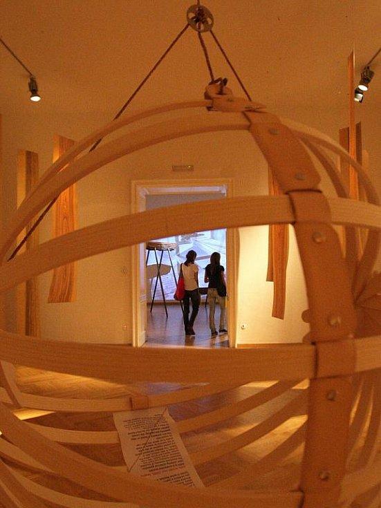 Výstava Take Nord Shape v Domě pánů z Kunštátu.