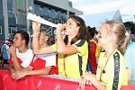 Po čtyřech dnech soutěžení ve středu večer slavnostním ceremoniálem v areálu Vysokého učení technického skončily Hry VIII. letní olympiády dětí a mládeže, které pořádalo Brno.