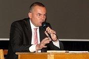 Brno 21.11.2017 - debata k sociálnímu bydlení, která se konala v Dělnickém domě v brněnských Židenicích.