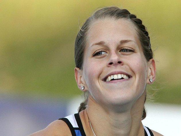 Brněnská sprinterka Kateřina Čechová.