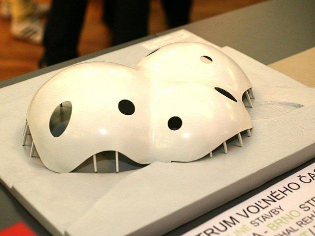 Výstava studentských prací k výročí Ústavu architektury Fakulty stavební brněnské techniky.