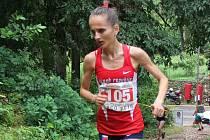 Běžkyně Lucie Maršánová.