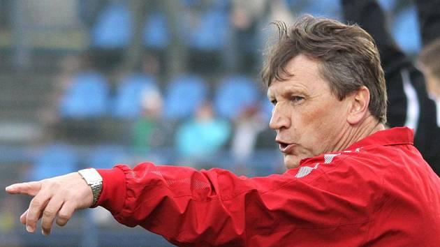 Trenér 1.FC Brno Miroslav Beránek.